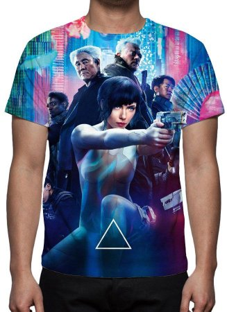 GHOST IN THE SHELL - Vigilante do Amanhã Modelo 2 - Camiseta de Cinema