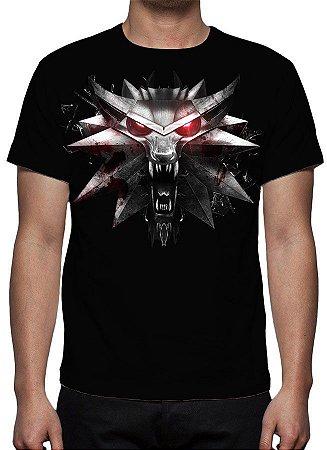 WITCHER 3, The - Escola do Lobo - Camiseta de Games