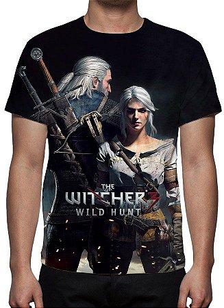 WITCHER 3, The - Geralt e Ciri - Camiseta de Games