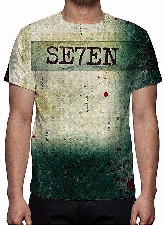 SEVEN - Os Sete Crimes Capitais - Camiseta de Cinema