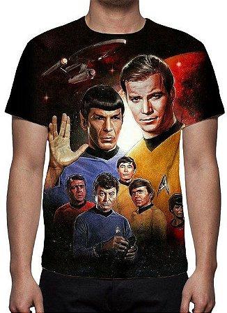 STAR TREK - Jornada nas Estrelas - Camiseta de Séries