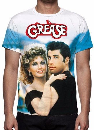 GREASE - Nos Tempos da Brilhantina - Camiseta de Cinema