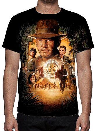 INDIANA JONES - Reino da caveira de Cristal - Camiseta de Cinema