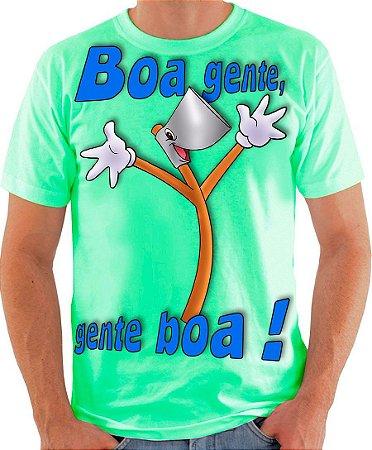 PAPO COM O MACHADO - Boa Gente, Gente Boa ! - Camiseta de parceiros