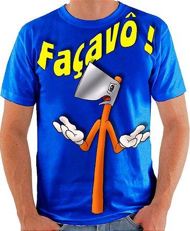 PAPO COM O MACHADO - Façavô ! - Camiseta de parceiros