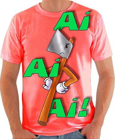 PAPO COM O MACHADO - Ai, Ai,Ai ! - Camiseta de parceiros