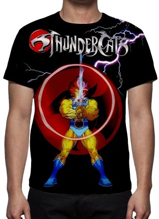 THUNDERCATS - Espada Justiceira - Camiseta de Desenhos