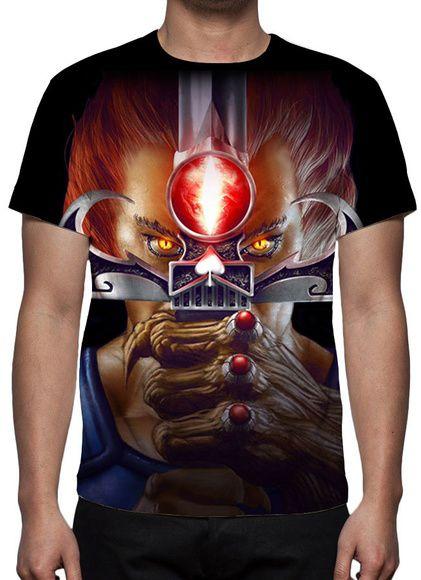 THUNDERCATS - Lion Modelo 2 - Camiseta de Desenhos