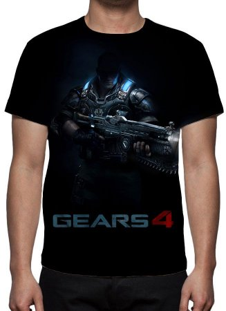GEARS OF WAR 4 - Modelo 2 - Camiseta de Games
