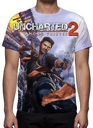 UNCHARTED 2 - Among Thieves - Camiseta de games