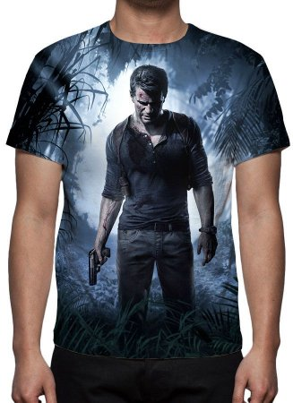 UNCHARTED 4 - A Thief´s End - Camiseta de Games