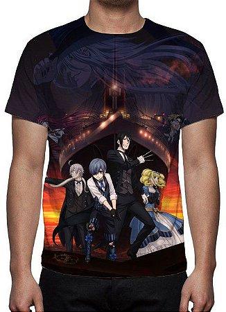KUROSHITSUJI - Camiseta de Animes