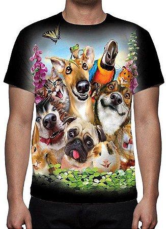 ANIMAIS - Galera Animal Pet - Camisetas Variadas