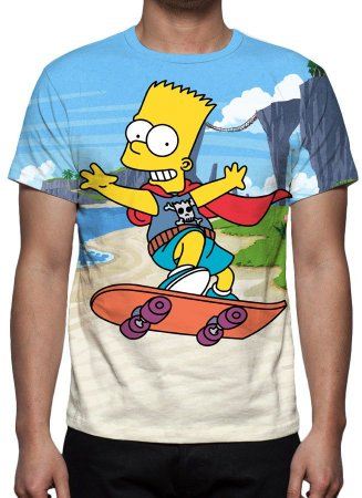 SIMPSONS, OS - Bart Simpson - Camiseta de Desenhos