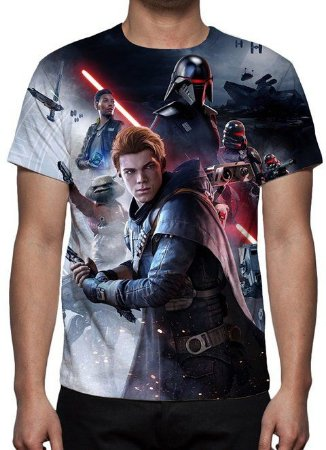 STAR WARS - Jedi Fallen Order - camiseta de Games