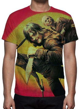 WALKING DEAD, THE - Vermelha - Camiseta de Séries