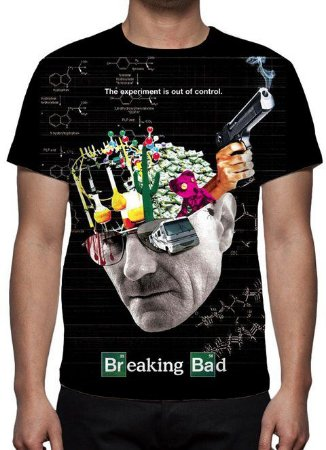 BREAKING BAD - The Experiment is out of Control - Camiseta de Séries