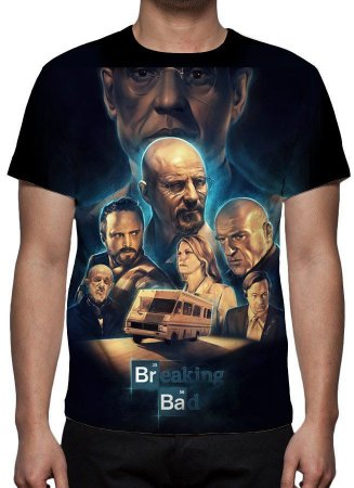 BREAKING BAD - Camiseta de Séries