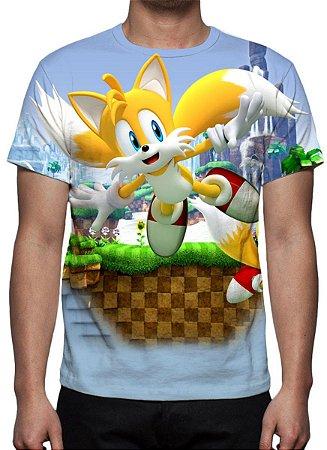 """SONIC - Miles """"Tails"""" - Camiseta de Games"""