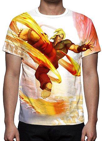 STREET FIGHTER 5 - Ken Masters - Camisetas de Games