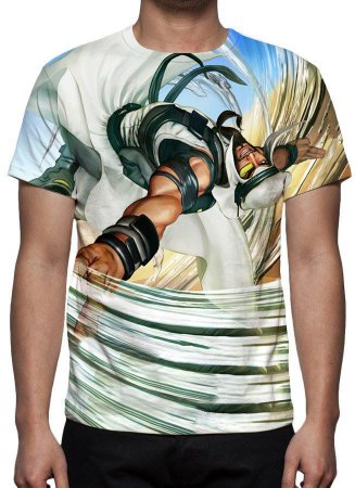 STREET FIGHTER 5 - Rashid - Camisetas de Games
