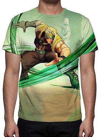STREET FIGHTER 5 - Charlie Nash - Camiseta de Games