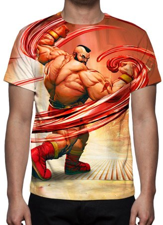 STREET FIGHTER 5 - Zangief - Camiseta de Games