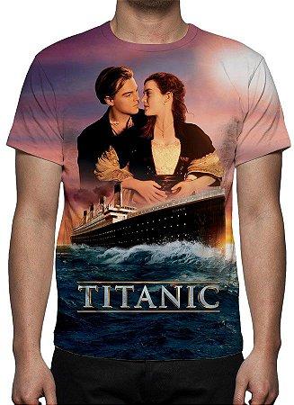 TITANIC - Modelo 1 - Camiseta de Cinema