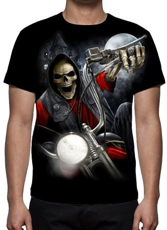 REAPER MORTE - Biker Nightmare - Camiseta Variada