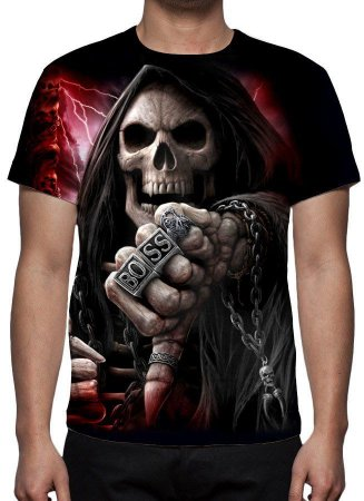 REAPER MORTE - The Boss - Camiseta Variada
