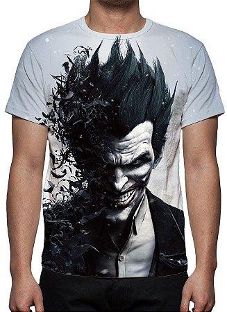 DC GAMES - Batman Arkham City Coringa - Camiseta de Games