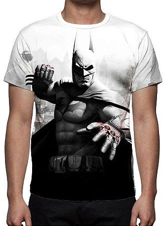 DC GAMES - Batman Arkham City - Camiseta de Games