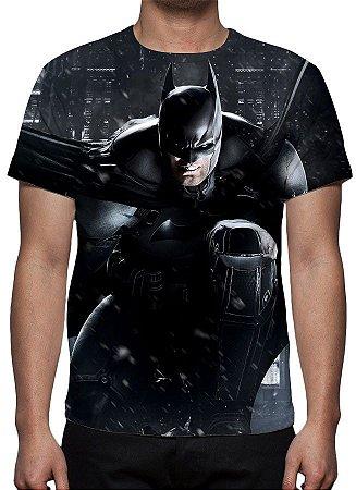 DC GAMES - Batman Arkham Game - Camiseta de Games
