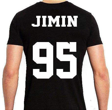 BTS Bantang Boys - Army Preta Jimin - Camiseta de Kpop