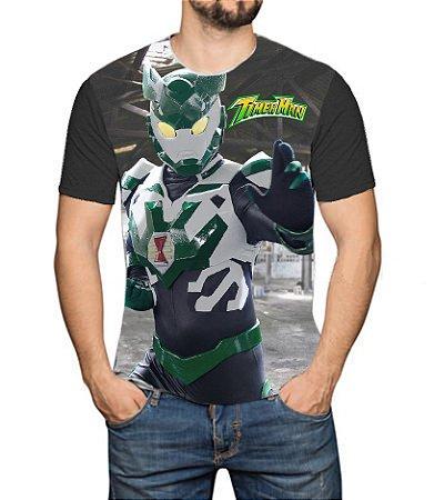 TIMERMAN - Live Action Modelo 1 - Camiseta de Heróis Brasileiros