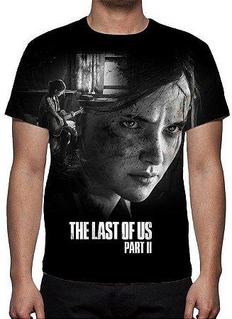 LAST OF US, The - Parte II Preta - Camiseta de Games