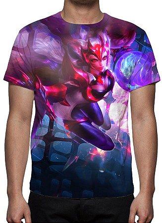 LEAGUE OF LEGENDS - Ahri Desafiante - Camiseta de Games