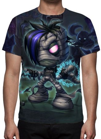 LEAGUE OF LEGENDS - Amumu Emumu - Camiseta de Games