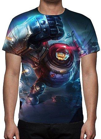 LEAGUE OF LEGENDS - Blitzcrank Riot - Camiseta de Games