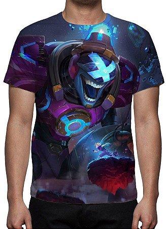 LEAGUE OF LEGENDS - Brand Fliperama - Camiseta de Games