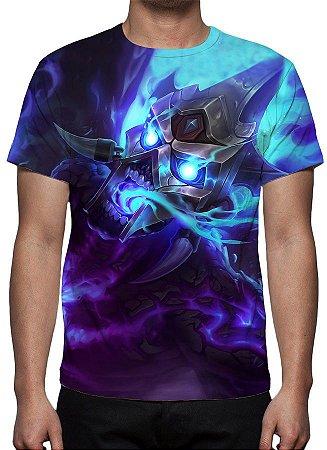 LEAGUE OF LEGENDS - Brand Fogo Espiritual - Camiseta de Games