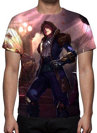 LEAGUE OF LEGENDS - Ezrael Ás da Espada - Camiseta de Games