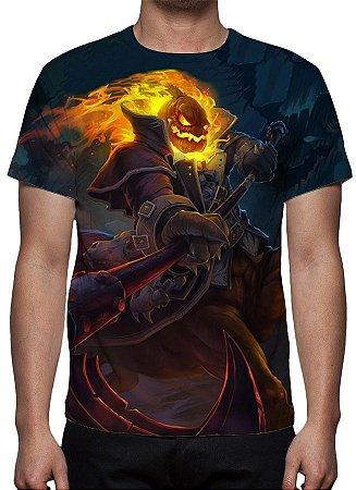 LEAGUE OF LEGENDS - Hecarin Sem Cabeça - Camiseta de Games