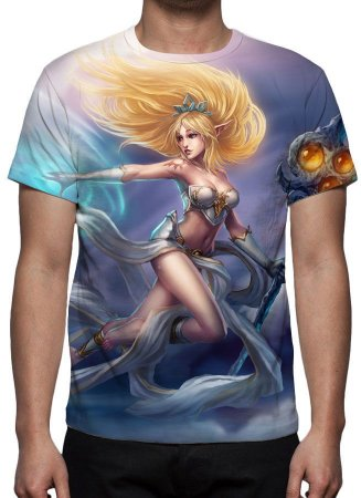 LEAGUE OF LEGENDS - Janna Fúria da Tormenta - Camiseta de Games