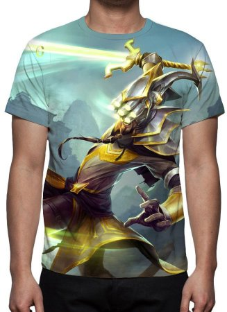 LEAGUE OF LEGENDS - Master Yi Espadachin - Camiseta de Games