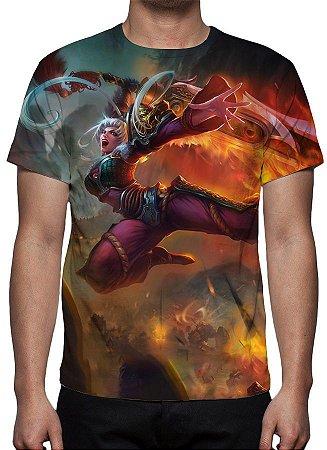 LEAGUE OF LEGENDS - Riven Espada Demoníaca - Camiseta de Games