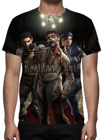 RESIDENT EVIL - Camiseta de Games