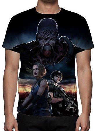 RESIDENT EVIL 3 - Remake - Camiseta de Games