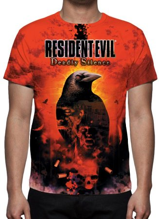 RESIDENT EVIL  - Deadly Silence - Camiseta de Games