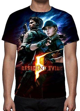 RESIDENT EVIL 5 - Modelo 1 - Camiseta de Games